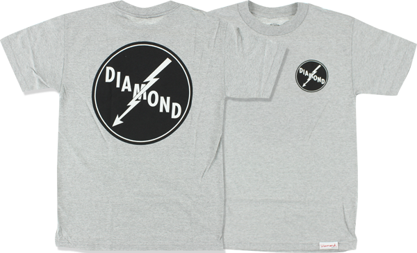 Diamond Lightning Ss M-Heather Grey
