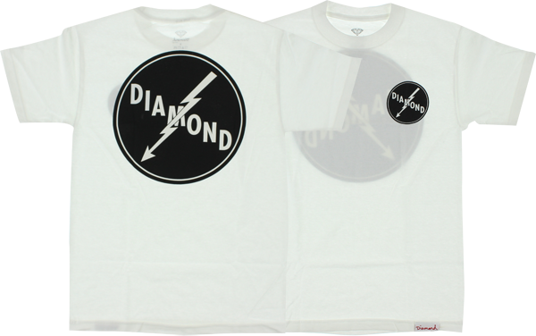 Diamond Lightning Ss Xl-White