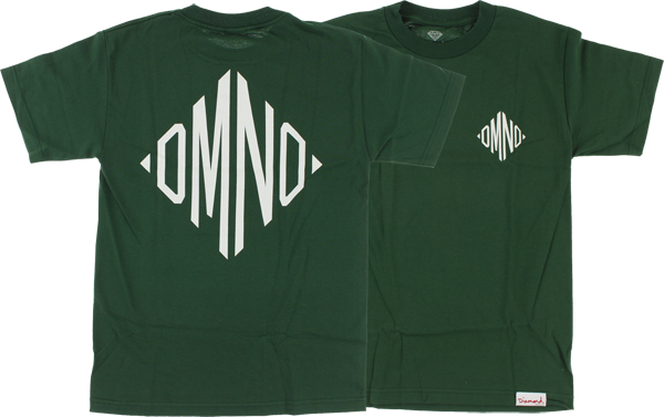 Diamond Monogram Ss L-Hunter Grn