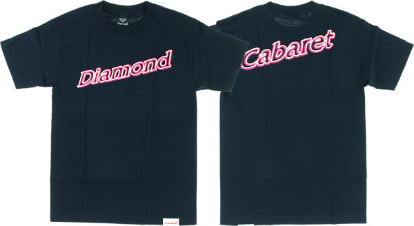 Diamond Neon Script Ss Xl-Navy