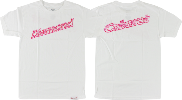 Diamond Neon Script Ss Xl-White