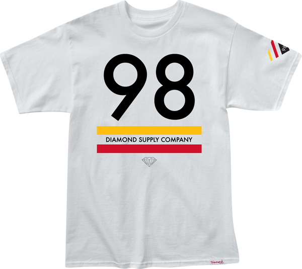 Diamond 98 Supply Ss Xl-White
