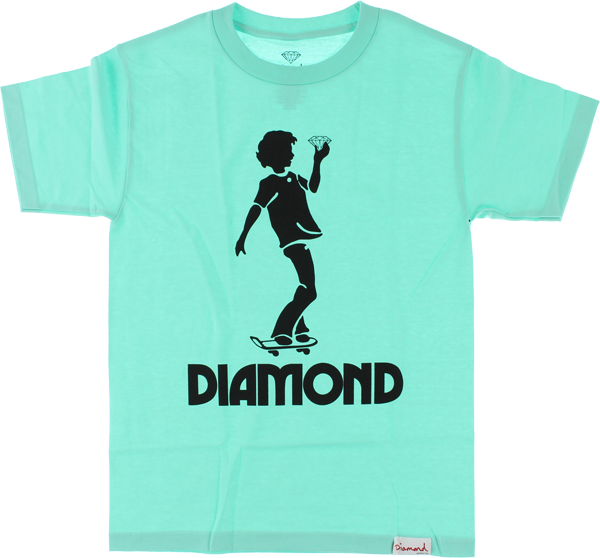 Diamond Skate Kid Ss Xxl-Diamond Blu