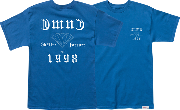 Diamond Skate Life Ss Xxl-Royal