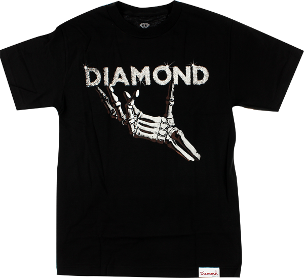 Diamond Styx & Stones Ss S-Black/Wht