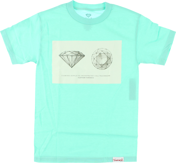 Diamond Trademark Ss Xl-Diamond Blu