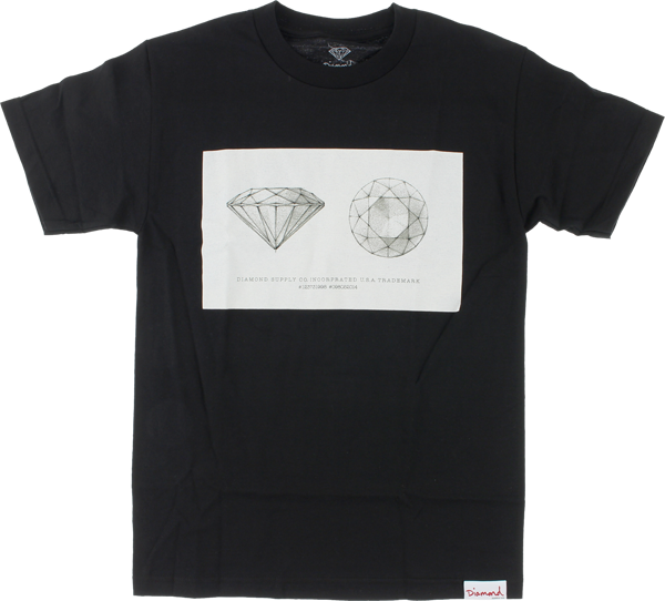 Diamond Trademark Ss Xl-Black