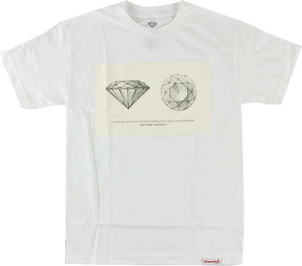 Diamond Trademark Ss Xl-White