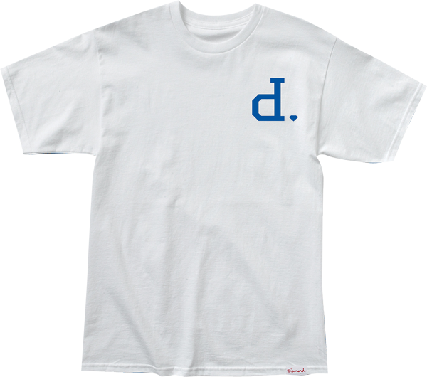 Diamond Unpolo Ss Xl-Wht/Blue