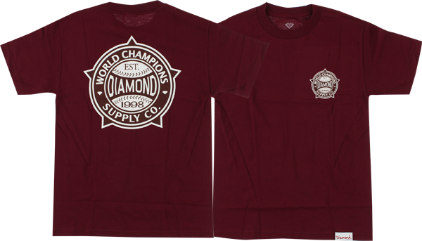 Diamond World Renowned Ss S-Burgandy/Wht