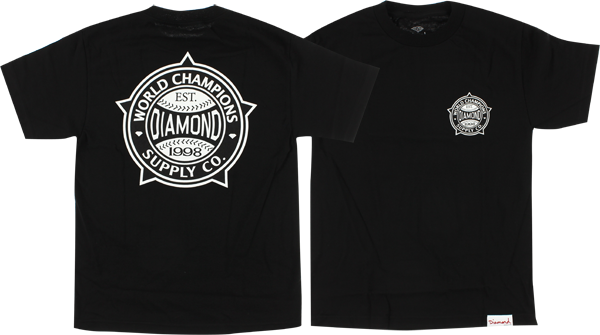 Diamond World Renowned Ss L-Blk/Wht