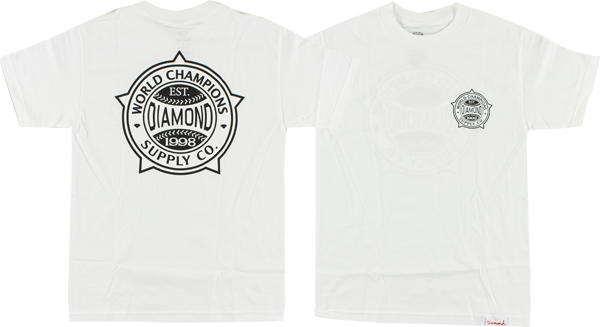 Diamond World Renowned Ss Xl-Wht/Blk