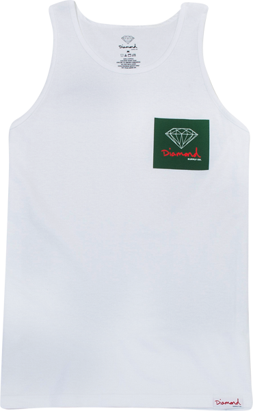 Diamond Og Sign Tank Top Xxl-White
