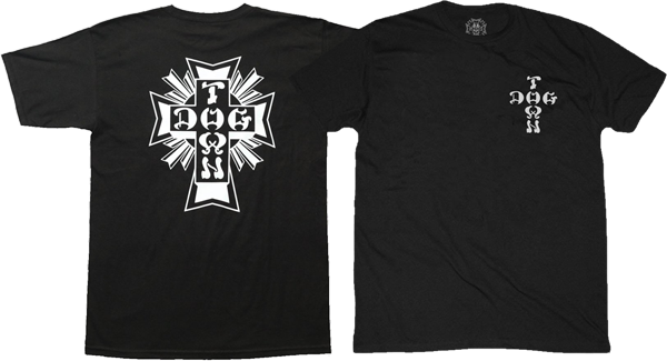 Dogtown Cross Logo Ss L-Black