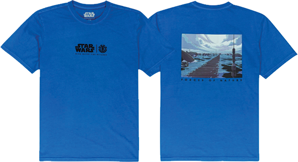 Ele Star Wars Water Ss M-Deep Water Blue