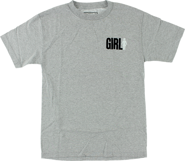 Girl Big Girl Duo Ss Xl-Heather Grey