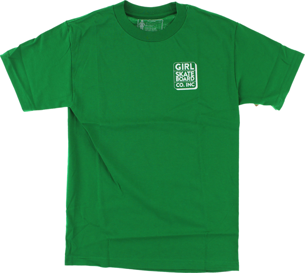 Girl Shadow Ss Xl-Kelly Green