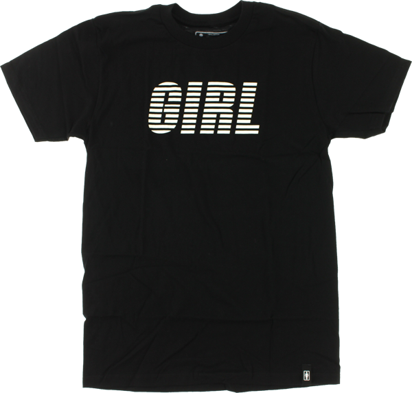 Girl Spirit Ss Xl-Black