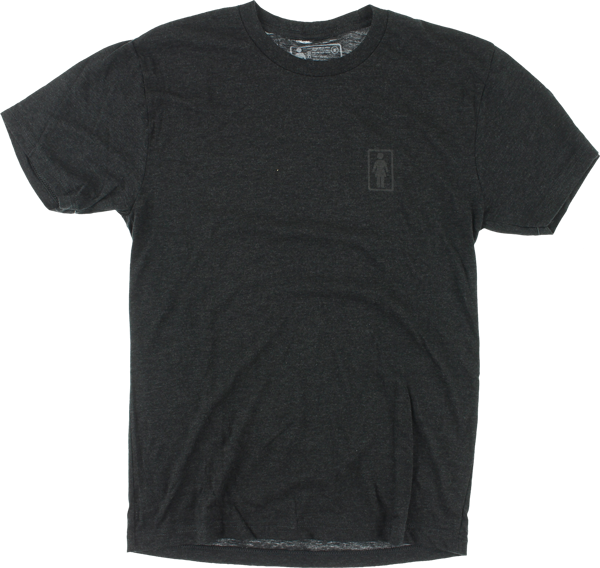 Girl Tri-Blend Og Ss M-Charcoal Heather