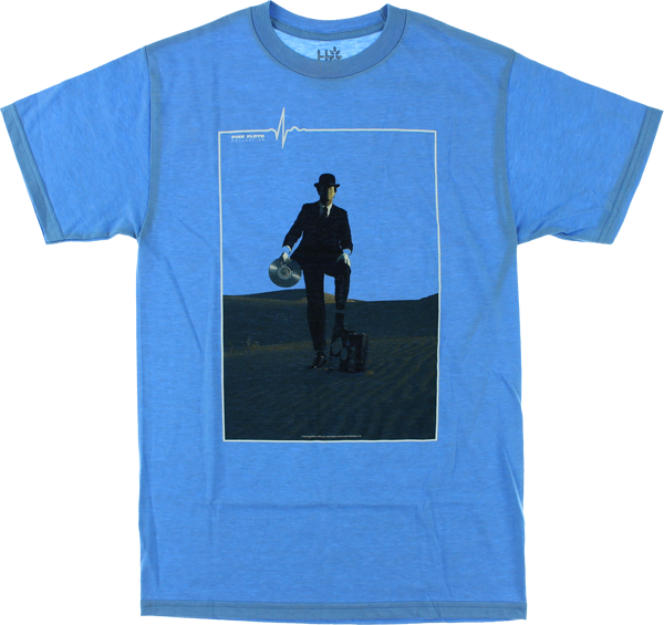 Hab/Pink Floyd Invisible Man Ss M-Blue