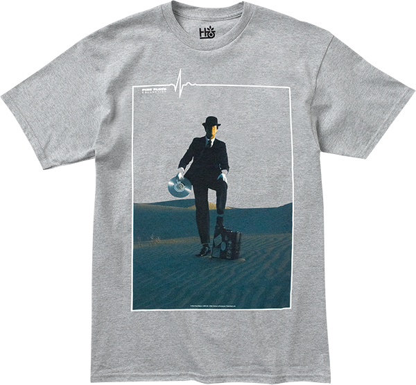 Hab/Pink Floyd Invisible Man Ss Xl-Heather Grey