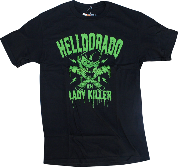 Helldorado Lady Killer Ss Xl-Black