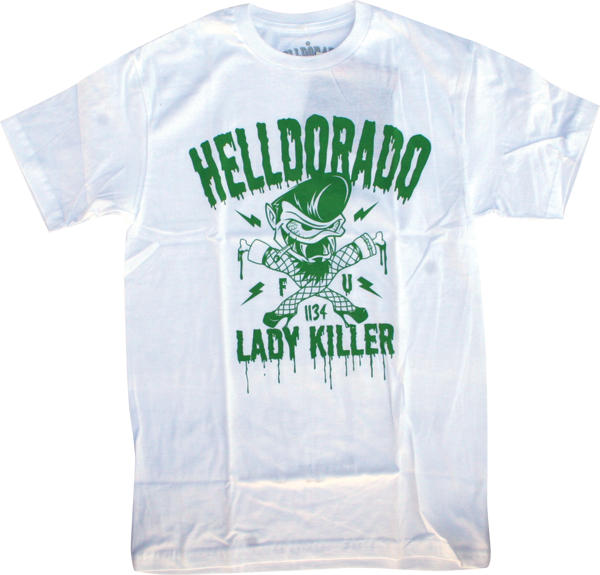 Helldorado Lady Killer Ss Xl-White