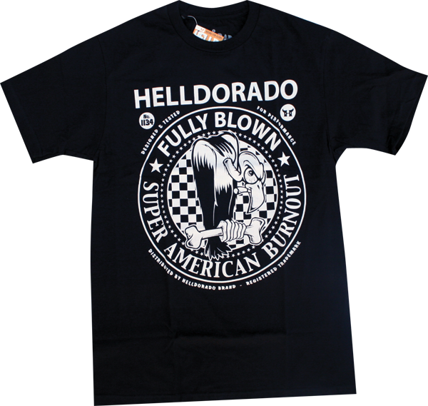 Helldorado Vulture Ss M-Black