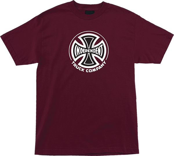 Inde Truck Co Ss M-Burgundy