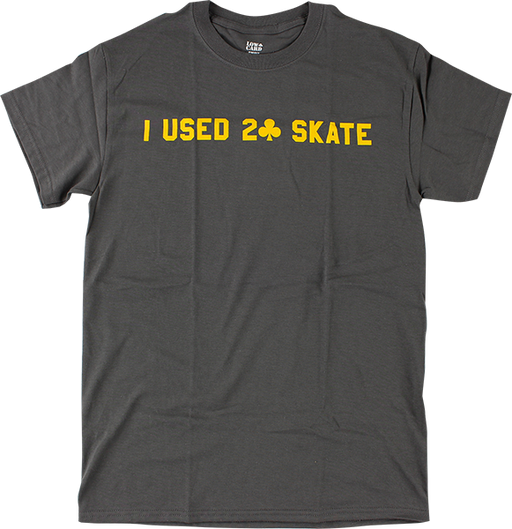 Lowcard I Used 2 Skate Ss M-Grey/Gold