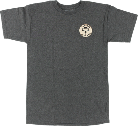 Lowcard Loser Mountains Ss S-Heather Grey