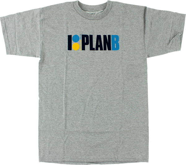 Plan B Og Ss Xl-Heather Grey