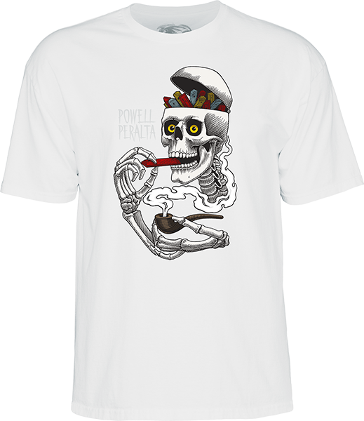 Pwl/P Curb Skelly Ss M-White