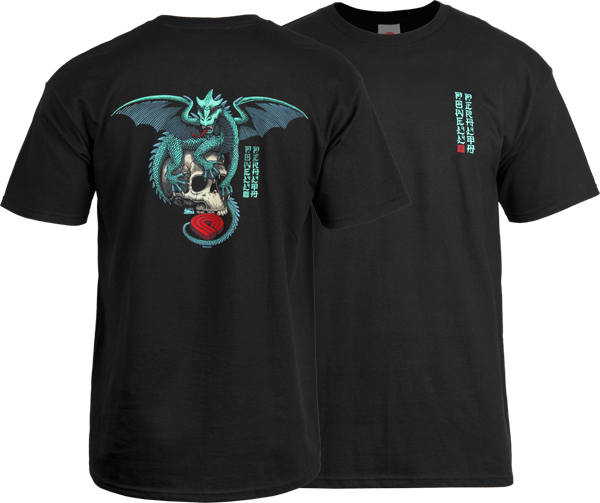 Pwl/P Dragon Skull Ss Xl-Black