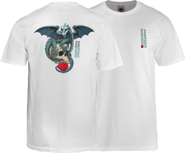 Pwl/P Dragon Skull Ss Xl-White