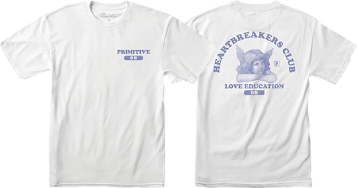 Primitive Love Education Ss Xl-White