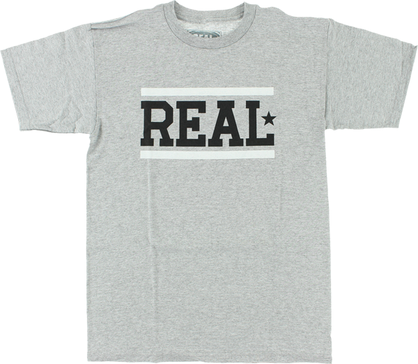 Real Bars Ss M-Heather/Blk/Grey