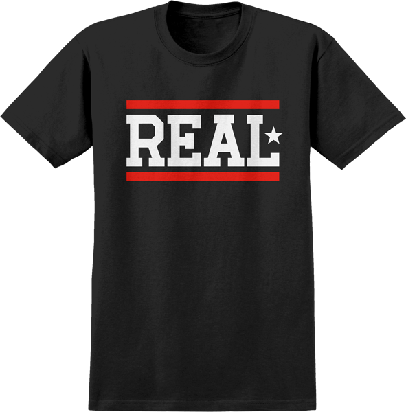 Real Bars Ss M-Blk/Wht/Red