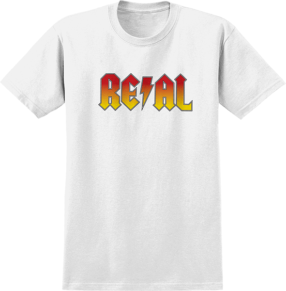 Real Deeds Highway To Hell Ss Xl-White/Red Yl Fade