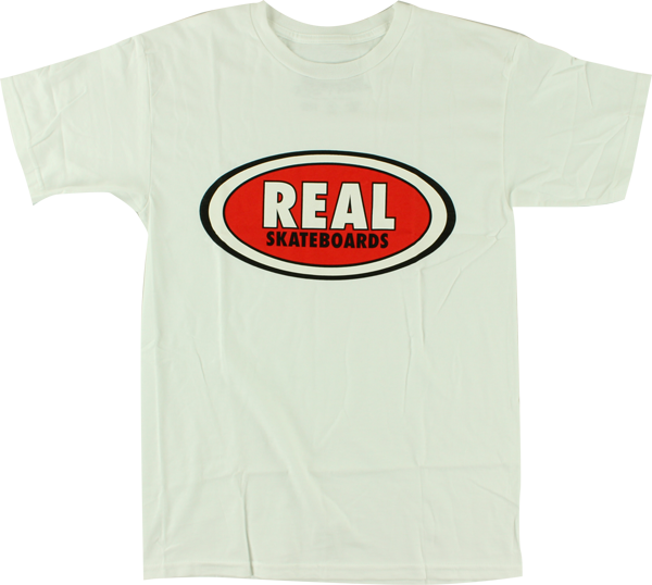 Real Og Oval Ss Xl-Wht/Red/Blk