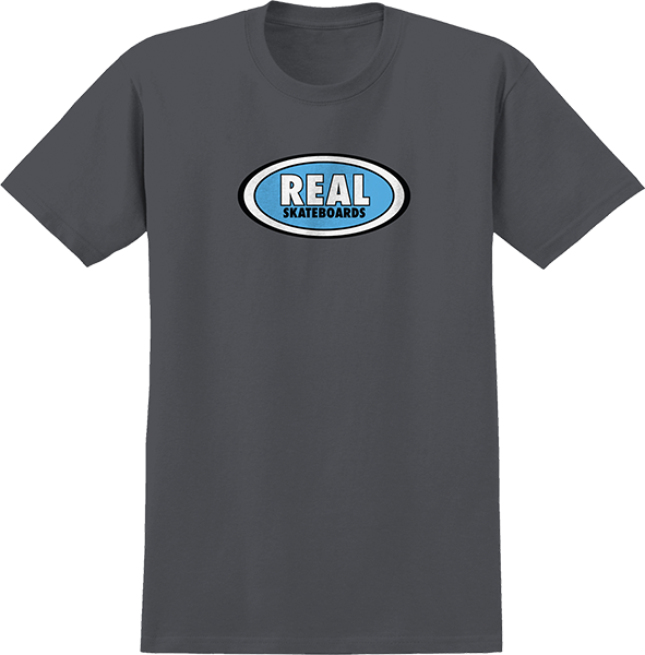 Real Oval Ss S-Charcoal/Blue