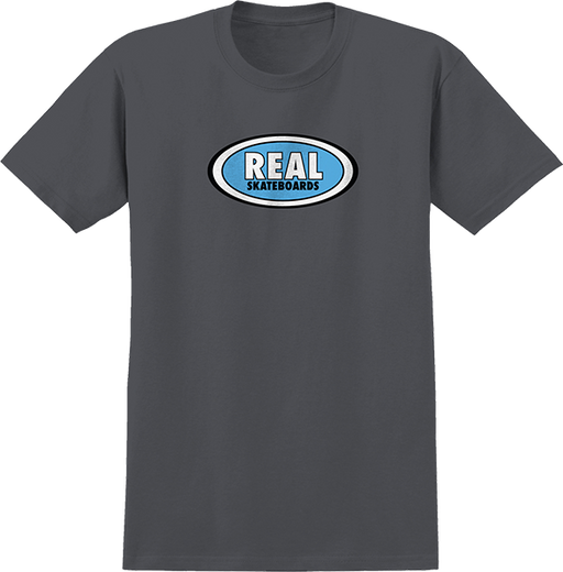 Real Oval Ss L-Charcoal/Blue