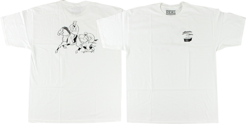 Real Temple Of Skate Ss Xl-White
