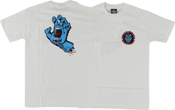 Sc Screaming Hand Ss Xl-White