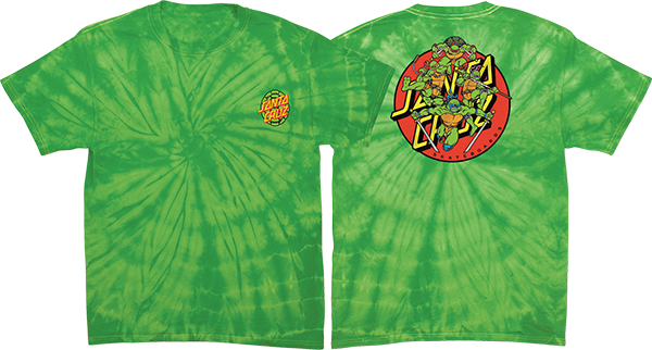Sc Tmnt Turtle Power Ss M-Lime Spider