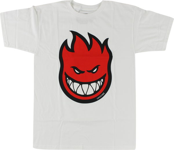 Sf Bighead Fill Ss L-Wht/Red
