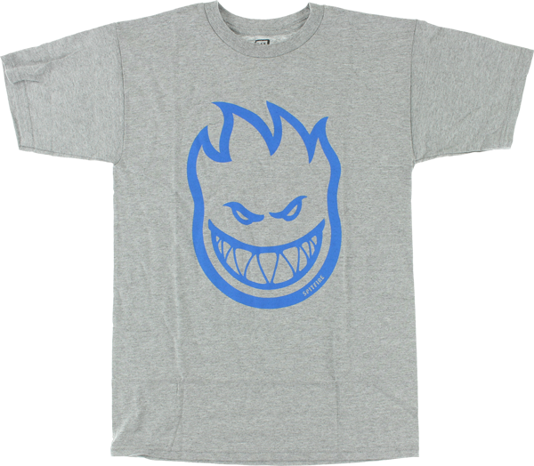 Sf Bighead Ss L-Heather Grey/Blu