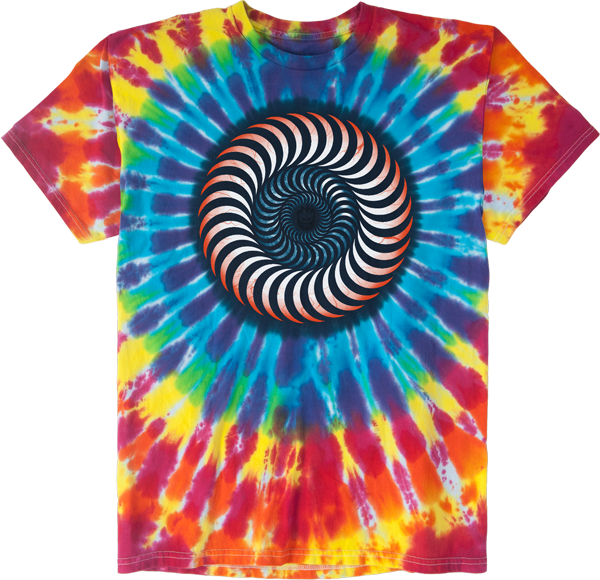Sf Bloodshot Ss Xl-Rainbow Tie Dye
