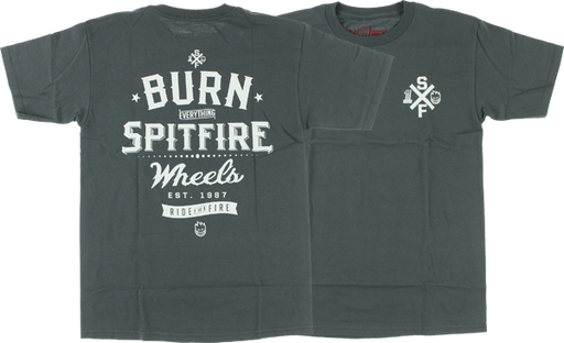 Sf Burn Everything Ii Ss Xl-Charcoal