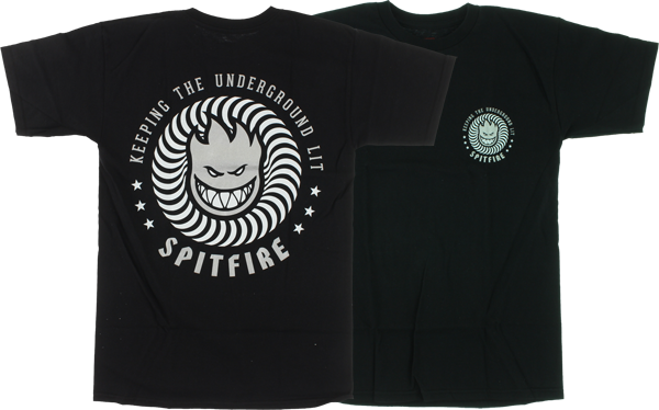 Sf Keep Underground Lit Ss Xl-Black/Wht/Silver